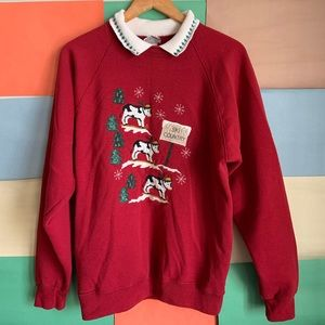 VINTAGE Valories Folkart Sweater size L
